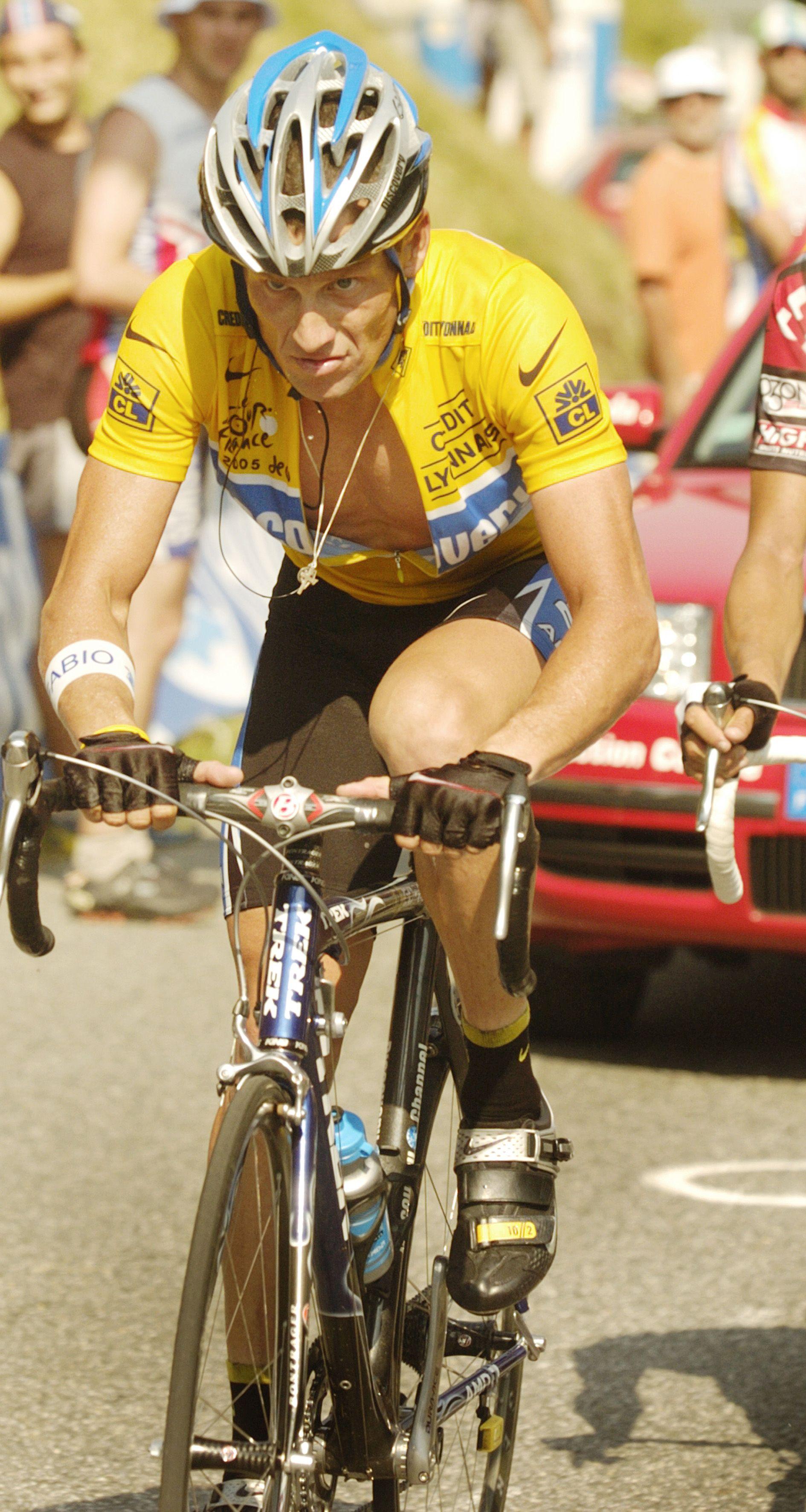 Lance Armstrong Tour De France 2005 Photo Www Johnallenpics Co Uk