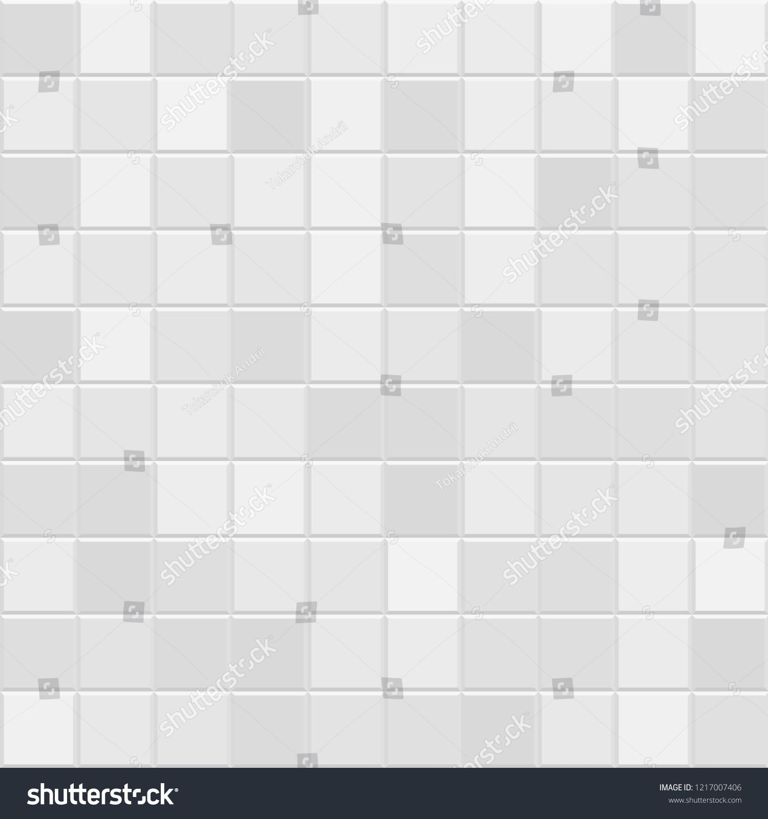 Grey Square Mosaic Tiles Background Background With Abstract