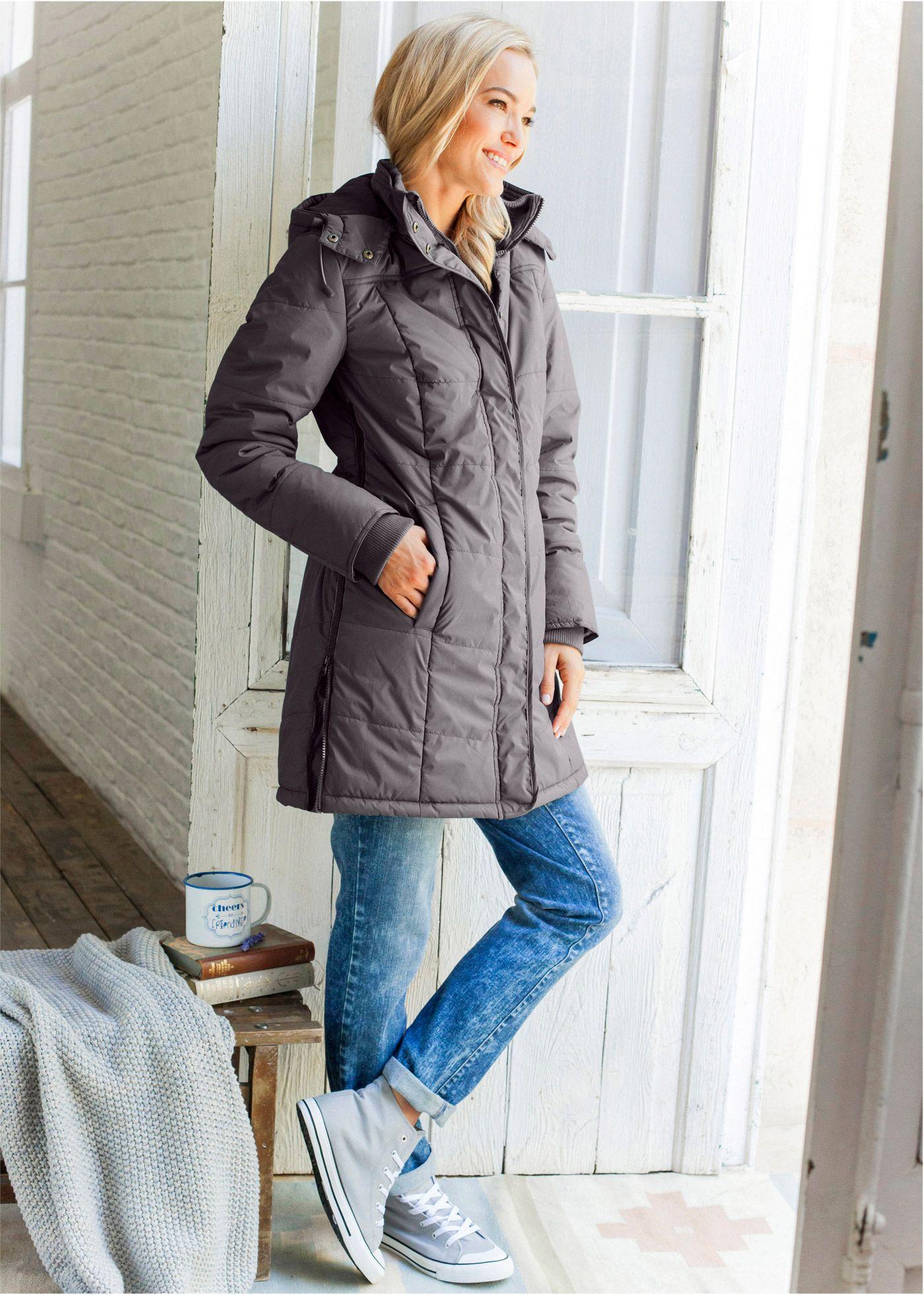 Steppelt kabát olajzöld Hossza minden • 13999.0 Ft • bonprix  4a22a5da87