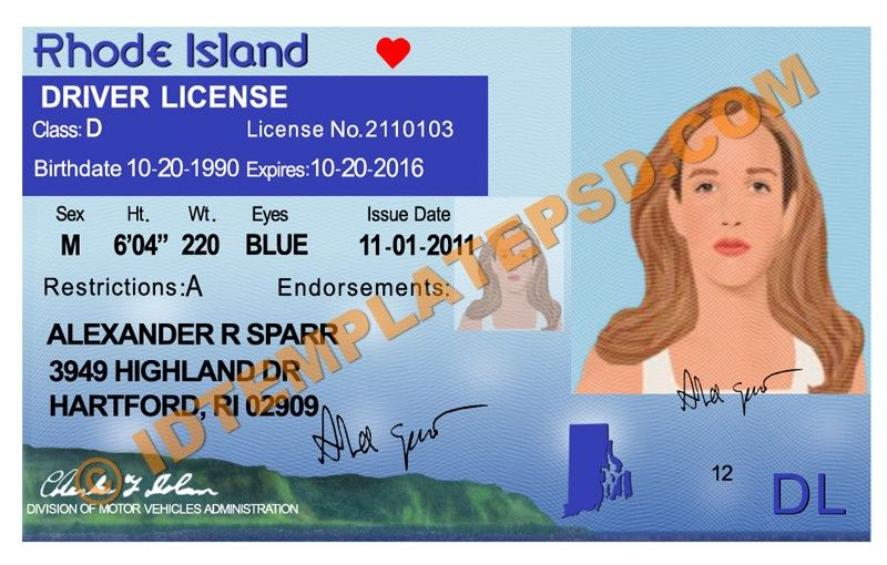 Usa Rhode Psd In Island Template usa This You License Put Can On … Template Is Driver Novelty photoshop 2019… Drivers State
