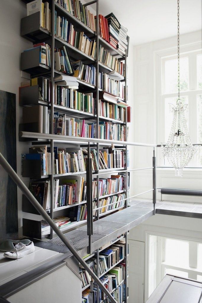 4. stairs and bookcase in one