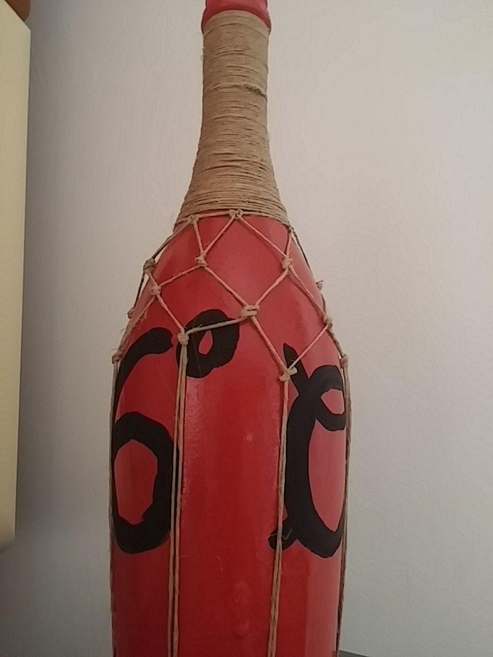 Bottiglia vino diy