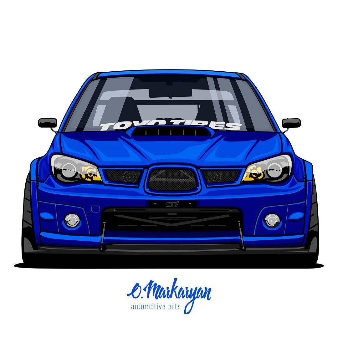 Oleg Markaryan On Instagram Subaru Sti Vector Art Owner Subi06sti Order Art Of Your Car Write Me To Dm Or Email Contact In Prof In 2020 Subaru Car Car Cartoon
