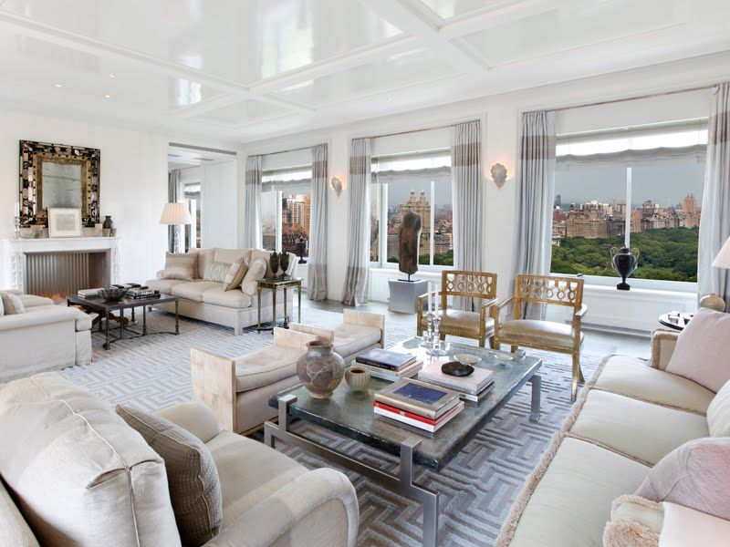 New York City living room with a view of Central Park! http ...