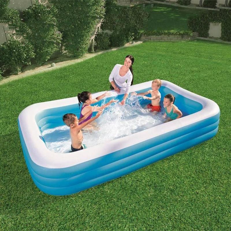 Inflatable 2020 Rectangle Swimming Pool for Home in 2020