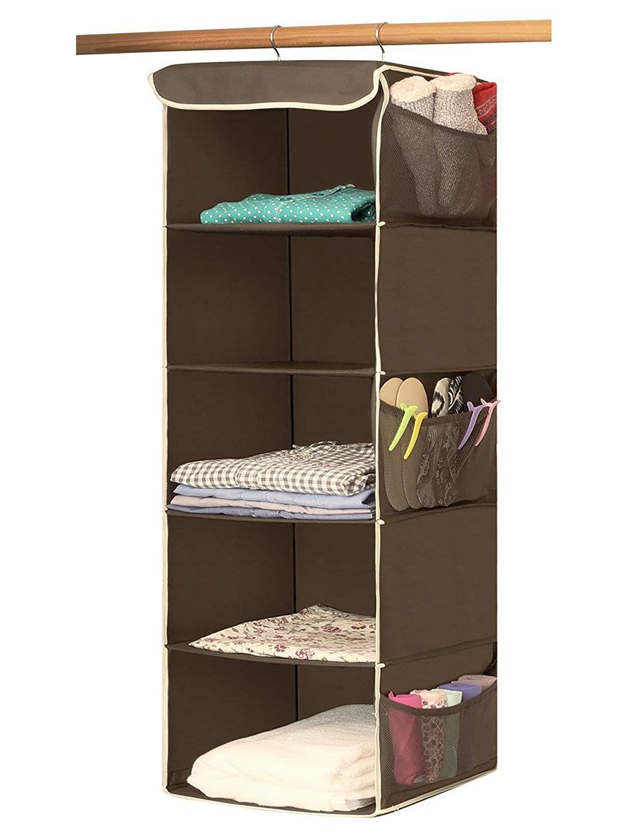 8 Closet Organizers You Can Shop On Amazon Hanging Closet Organizer Hanging Closet Best Closet Organization