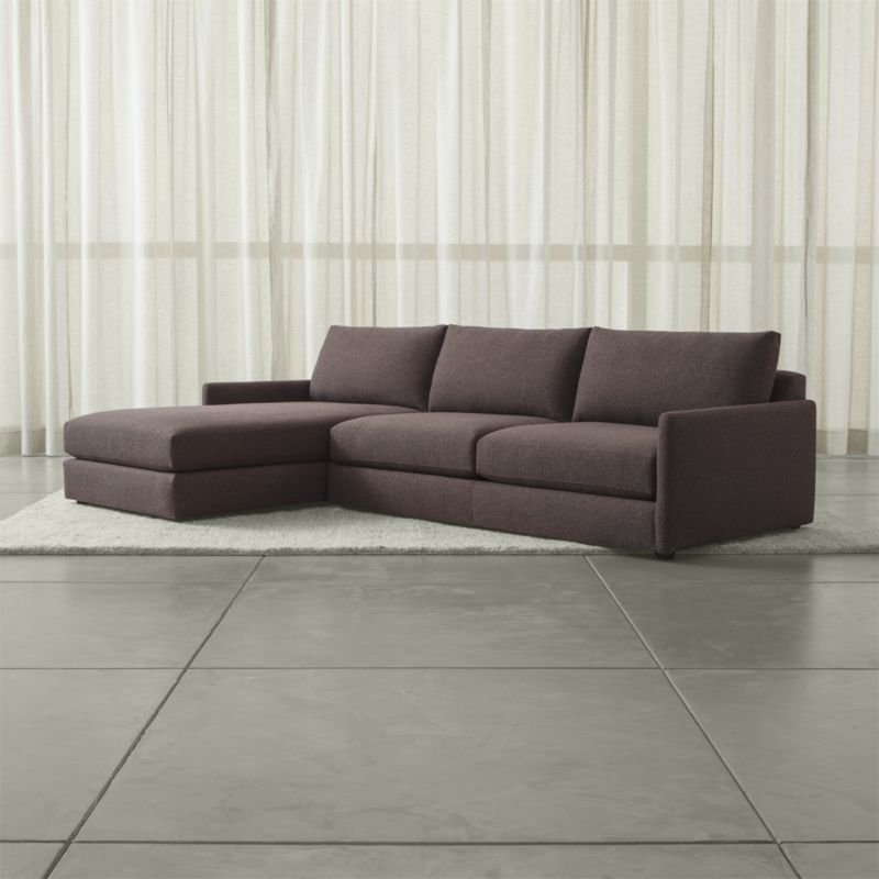 Maximize Your E With A High Quality Sectional Sofa From Crate And Barrel Browse