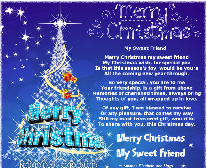 Merry Christmas Best Friend Quotes | Merry Christmas Images
