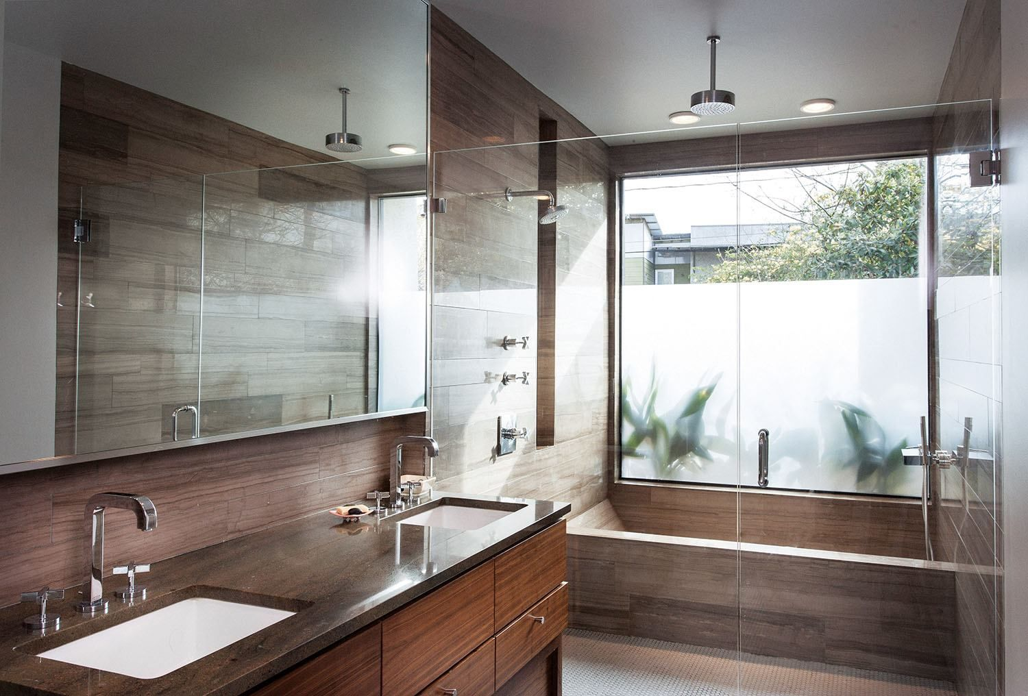 Alterstudio Architecture Designed This Bathroom With Privacy And Extraordinary Austin Tx Bathroom Remodeling Inspiration Design
