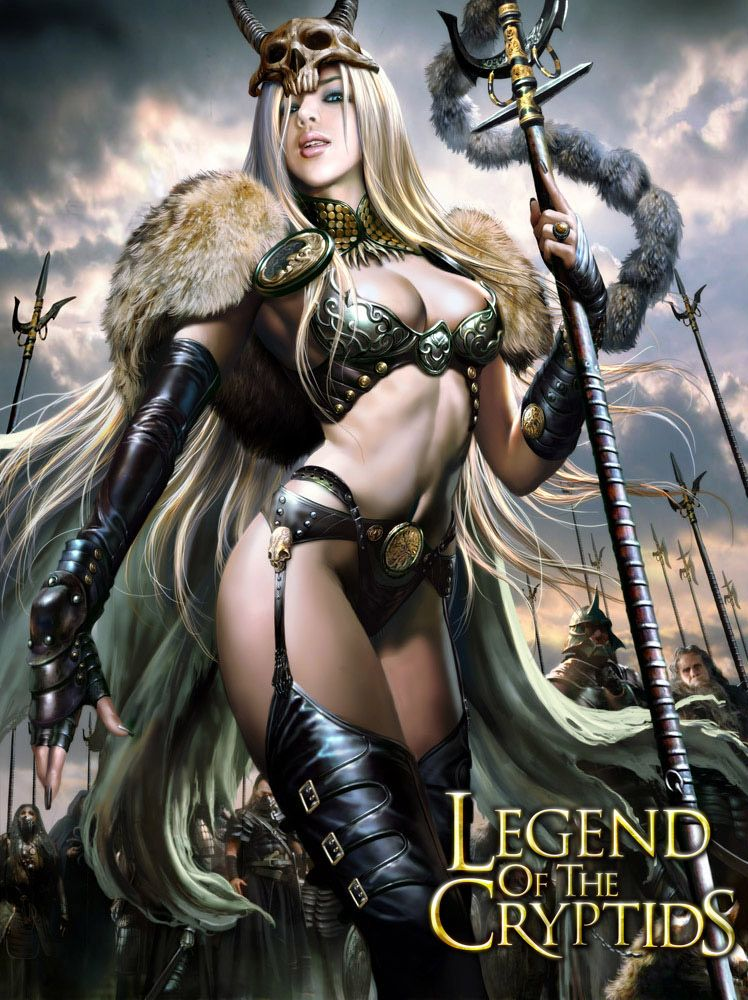 Barbarians queen by on - Fantasy female warrior artwork ...