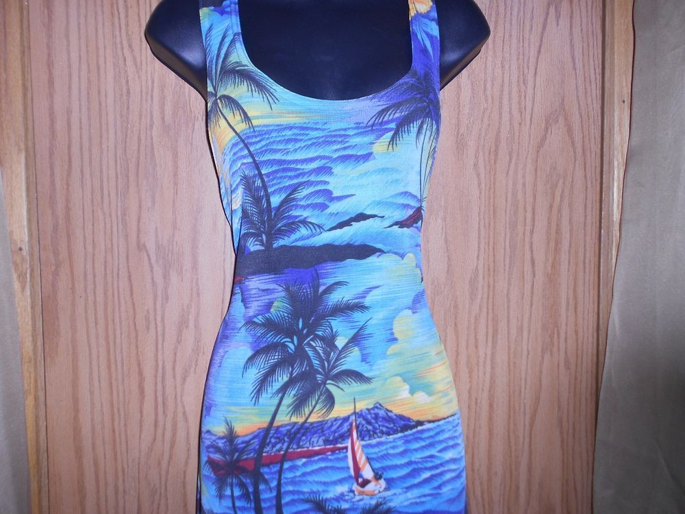 SIZE LARGE HAWAIIAN PRINT FULL LENGTH MAXI SUMMER / CRUISE DRESS A TORRID GIFT   #Unbranded #Maxi #SummerBeach