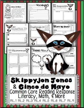 Cinco De Mayo Skippyjon Jones Math Literacy Fun Skippyjon