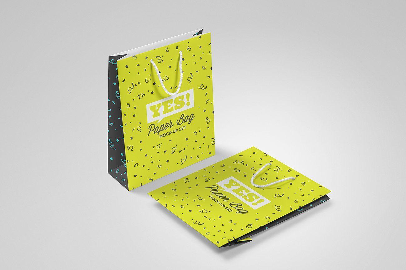 Download Paper Bag Mock Up Vol 1 Professional Business Cards Templates Bag Mockup Paper