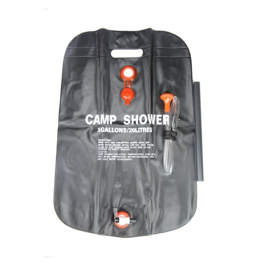 20l Outdoor Camping Solar Shower Bags Portable Bath