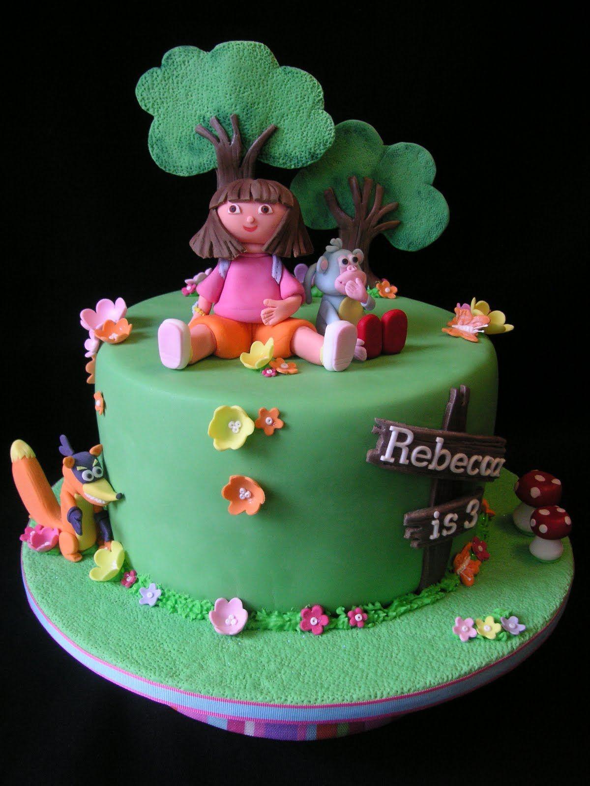 dora birthday cakes for girls Just call me Martha Dora cakes