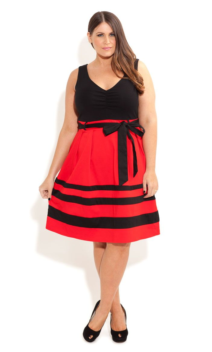 City Chic - So Cute Colour Dress - Women s plus size fashion   Dream ... 08f604cada9