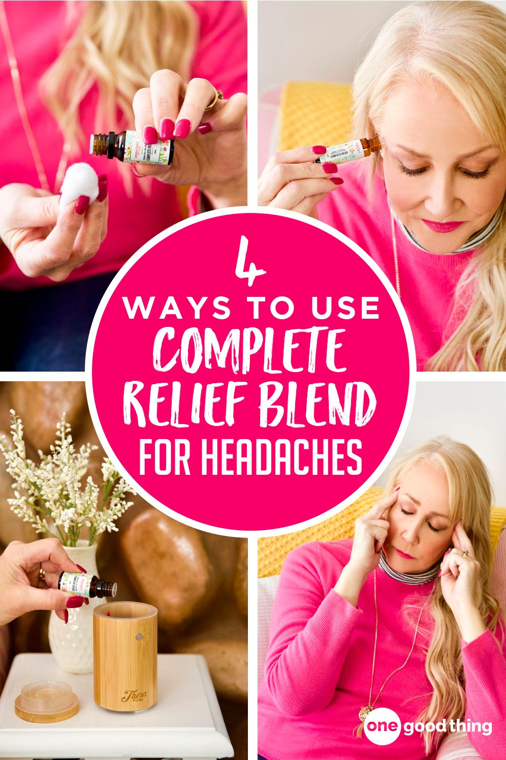 4 ways to use complete relief blend for headaches health