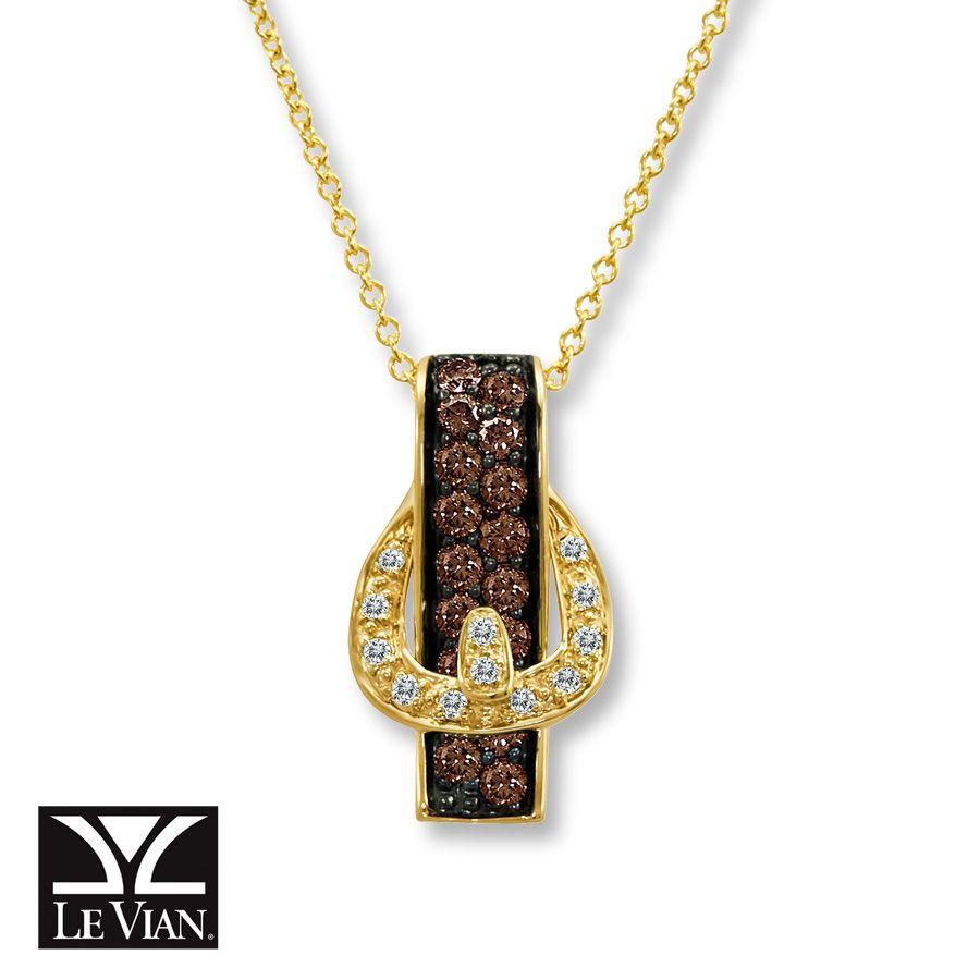 jared belt buckle necklace chocolate diamonds 14k honey. Black Bedroom Furniture Sets. Home Design Ideas