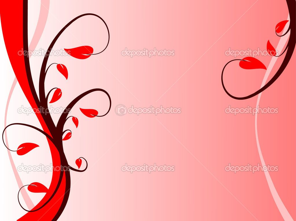 gallery for red design background