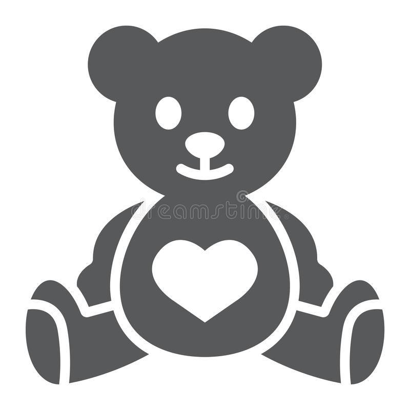 Cute cartoon teddy bear. Vector illustration for Valentine's Day Stock  Vector Image & Art - Alamy