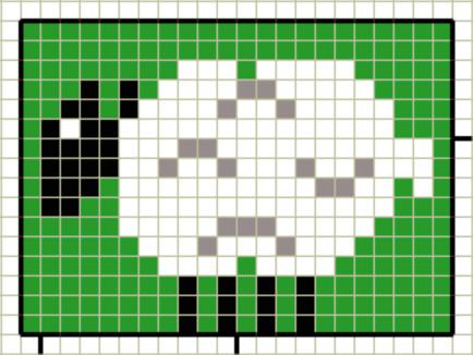 Diagramme: Einstrickmuster Kinder-Motive | Children crochet knit ...