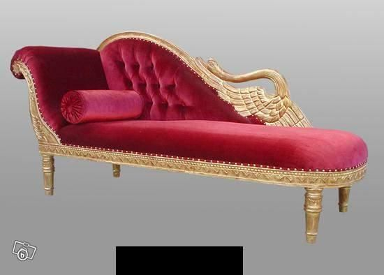 Fancy Fainting Couch Lounge Couch Room Furniture Lounge Sofa