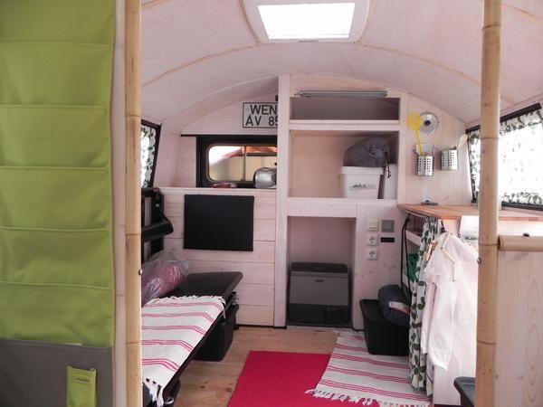 wohnmobile mb la 710 rundhauber bus conversion. Black Bedroom Furniture Sets. Home Design Ideas