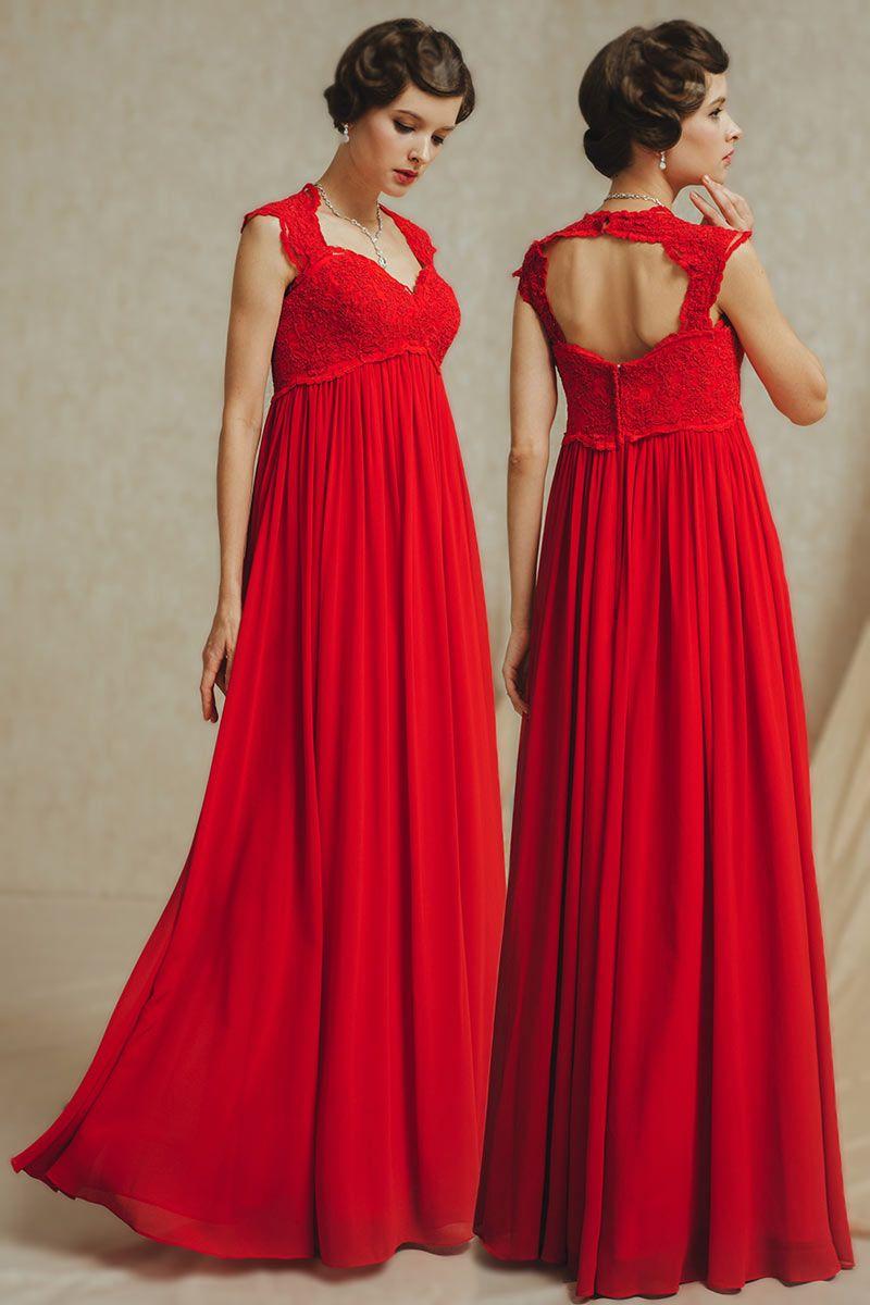 Robe de mariee femme enceinte rouge