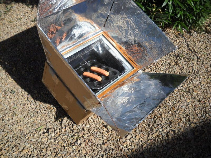 Cardboard And Duct Tape Solar Oven Solar Oven Solar Oven Diy Solar Cooker