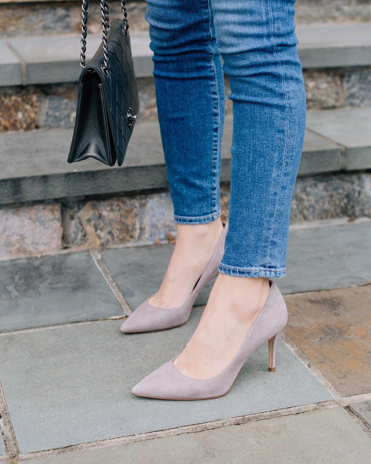 Ann Taylor Mila Suede Pumps | Shoes