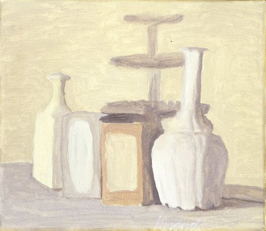 Giorgio Morandi, Still life (vases and bottles), 1948 ...