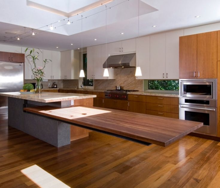 Cozy Floating Kitchen Islands In 2019 Floating Kitchen