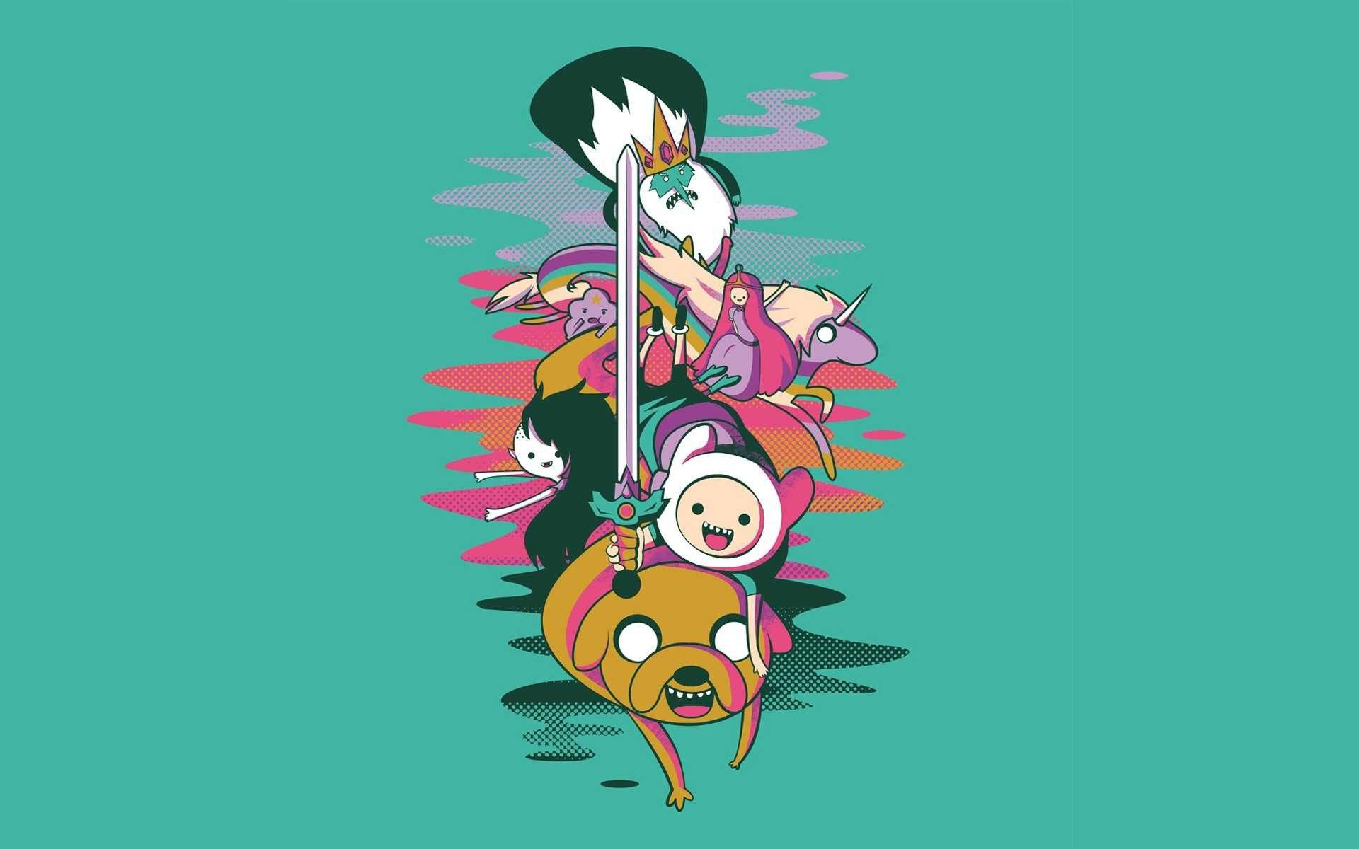 Adventure Time Desktop Backgrounds Wallpaper 1920 1080 Finn And Jake Hd Wallpapers 29 Wallpa Adventure Time Wallpaper Adventure Time Marceline And Bubblegum