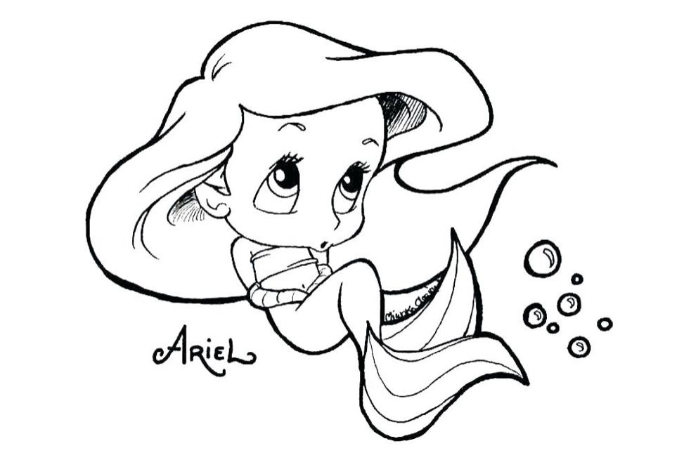Mermaid Coloring Pages Image By Jess Ross On Coloring Pages Disney Princess Coloring Pages Cute Coloring Pages