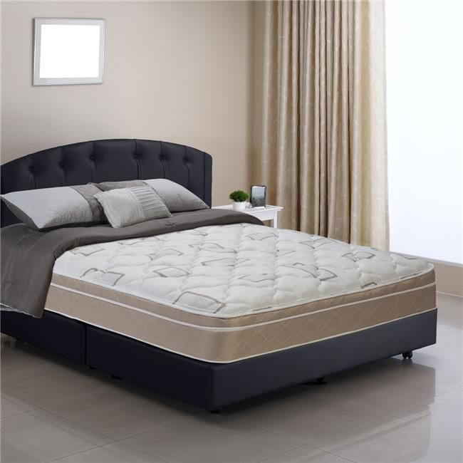 Wolf Mattress SCPT-50 Sleep Comfort Back Aid Pillow Top Mattress, Queen Size #pillowtopmattress