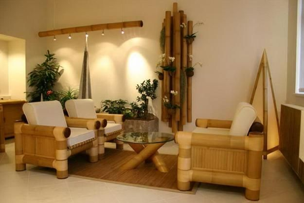 Bamboo Home Decorating Ideas And Eco Friendly Products For Interior Design Bamboo House Design Bamboo Furniture Asian Home Decor