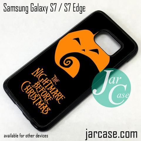 The Nightmare Before Christmas Pumpkin Phone Case for Samsung Galaxy