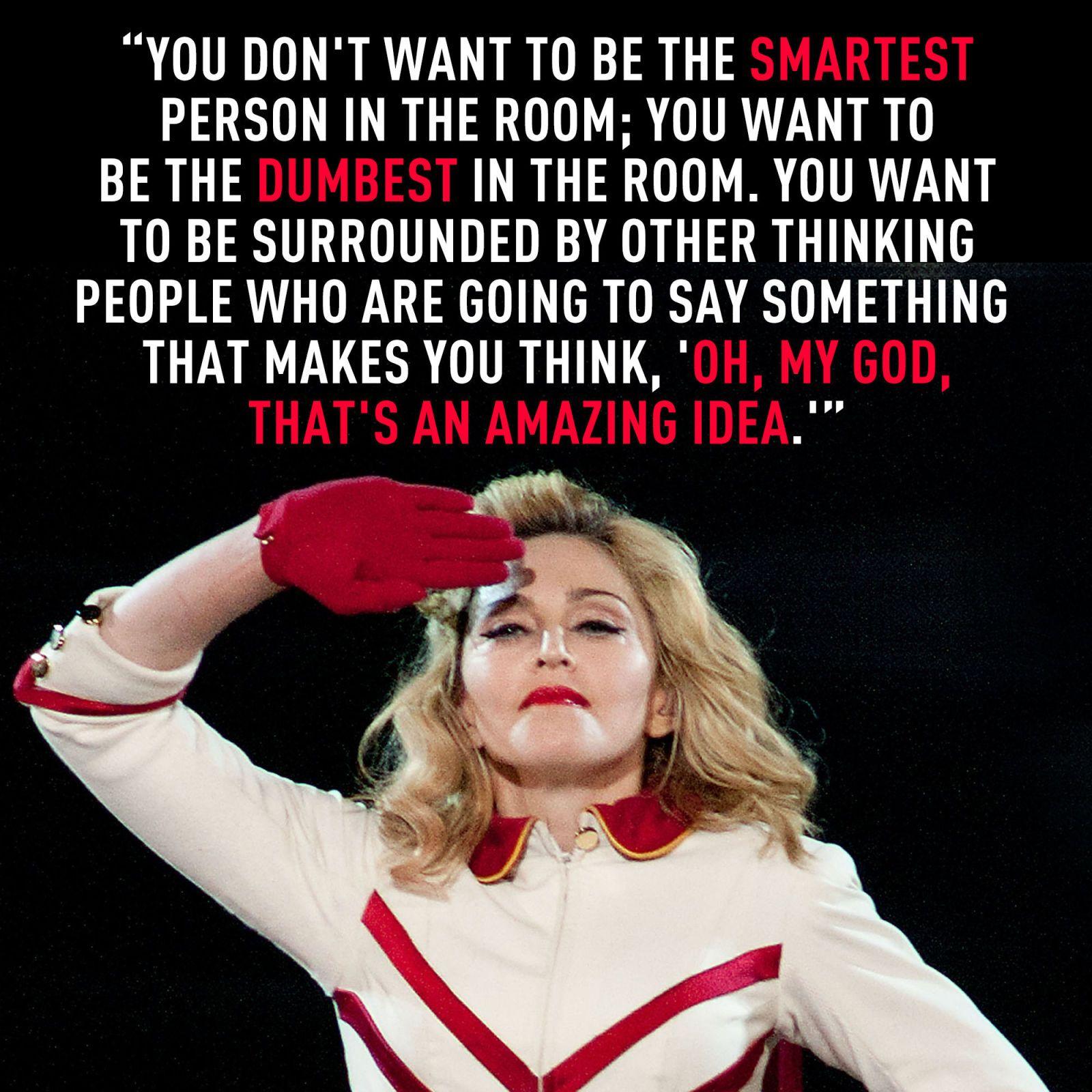 Madonna Inspirational Quotes