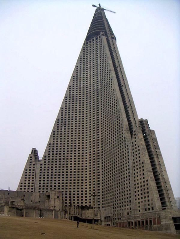 Hotel Ryugyong – Pyongyang, Coréia do Norte