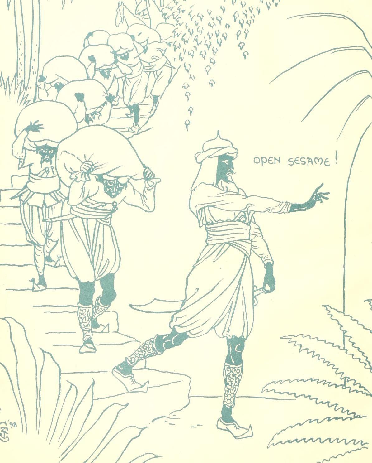 盗賊 の と アリババ 人 40