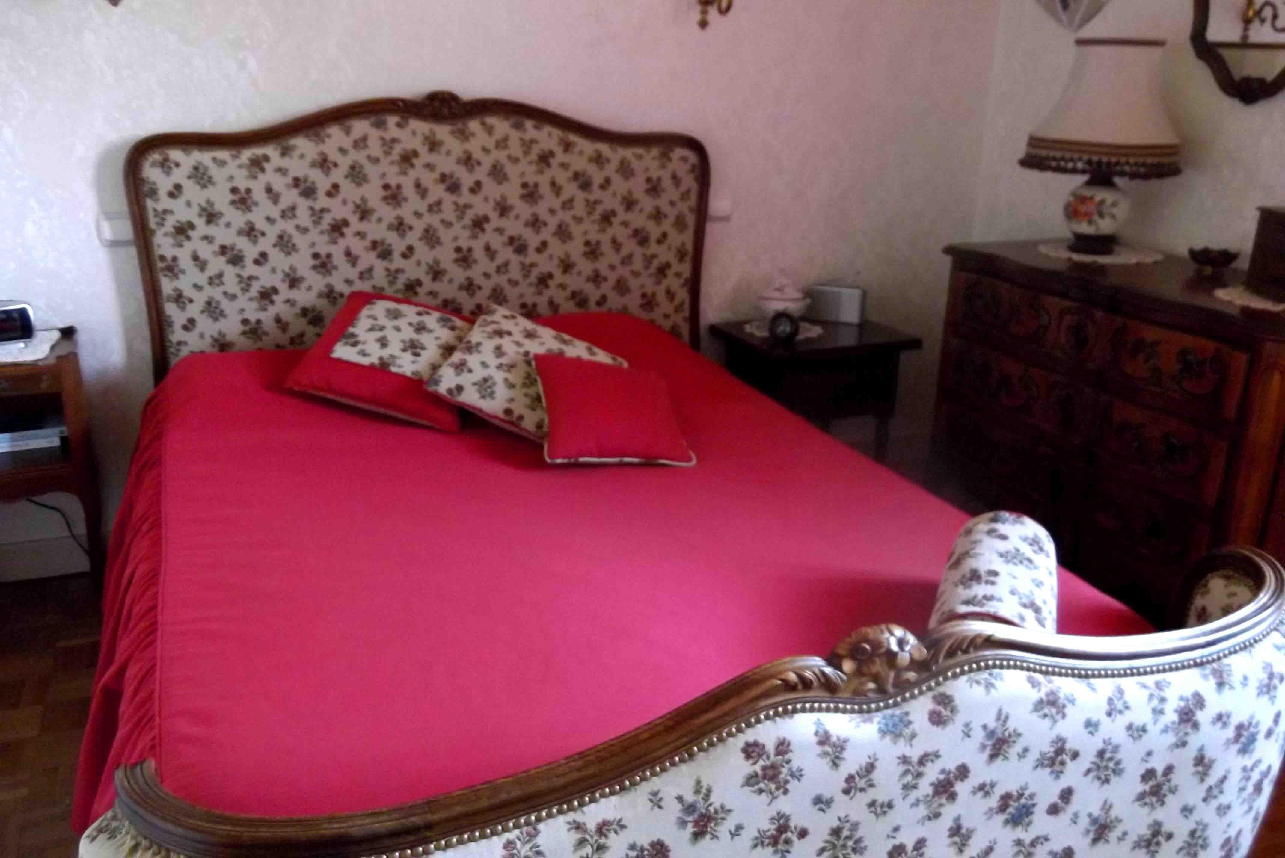 ameublement couvre lit Tête de lit et couvre lit Couture d'ameublement de l'Atelier  ameublement couvre lit
