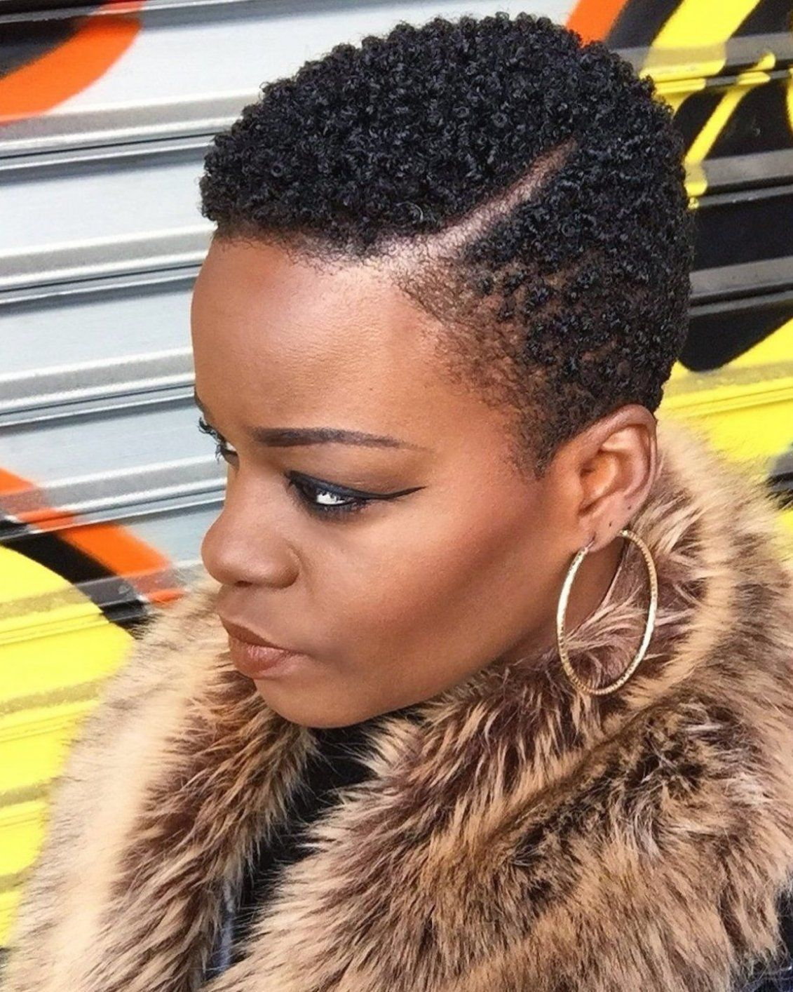 4c Hair Tapered Cut : tapered, Tandy, Napal, Natural, Hairstyles, Black, Women, Short, Styles,, Hair,, Tapered