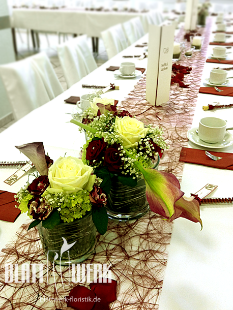 Tischdeko Hochzeit Tischdeko