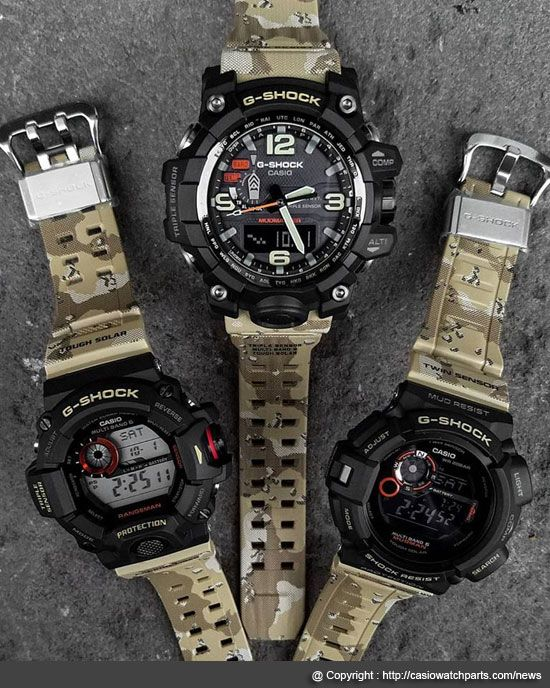 a7d7540dcb5f Casio G-Shock releasing their new model of its line with the release of New  G-Shock Master In Desert Camouflage Series. These new models part of G-Shock  ...