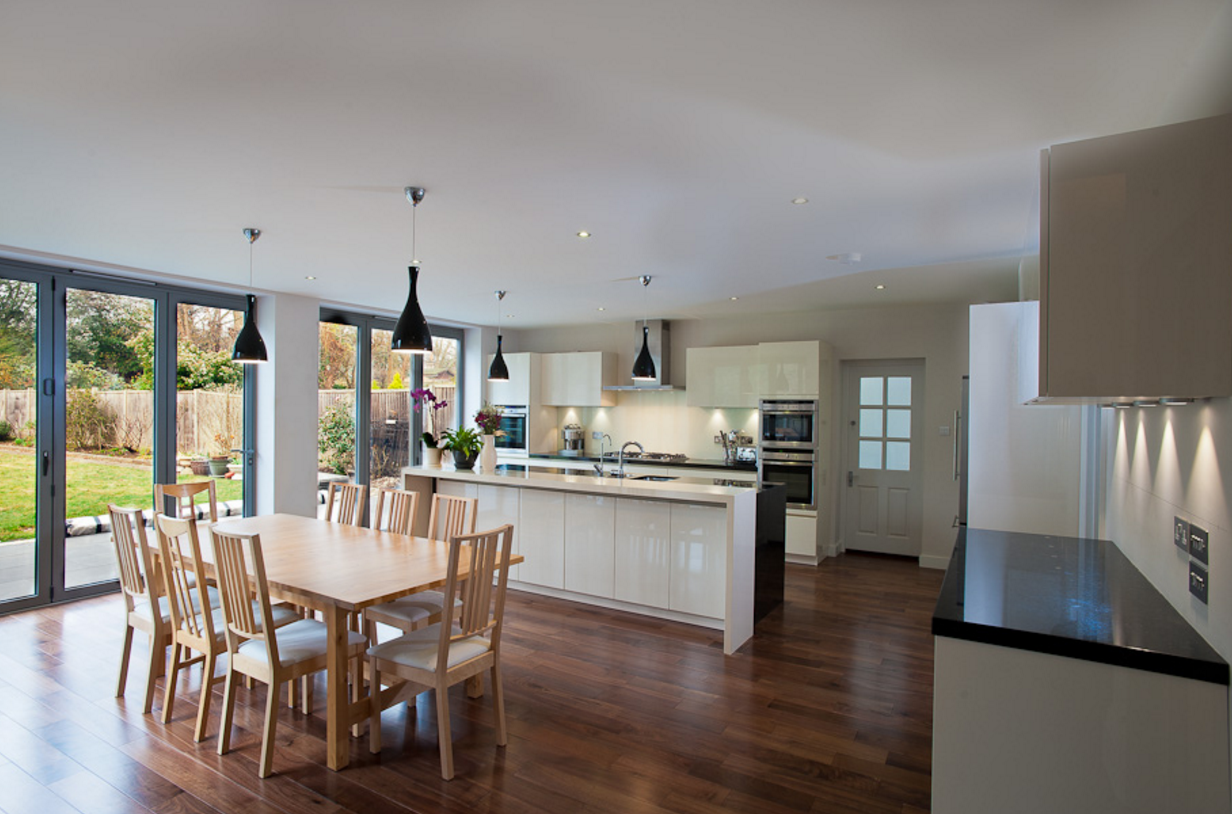 Making The Most Of Your Square Footage How To Add Versatility And Value Open Plan Kitchen Dining Kitchen Dining Living Open Plan Kitchen Living Room