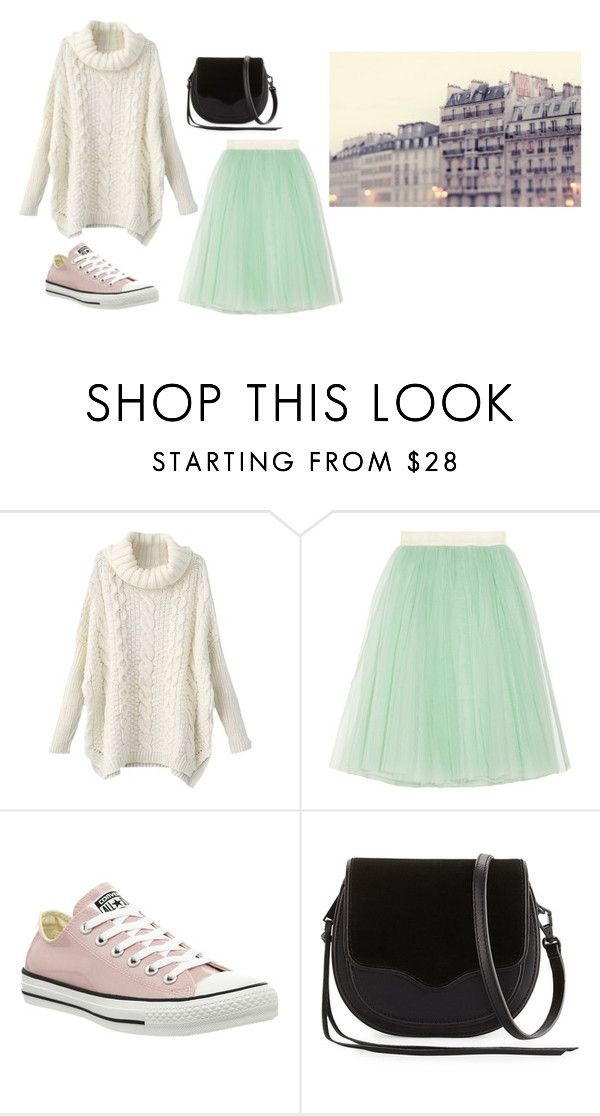 """""""Untitled #13506"""" by jayda365 ❤ liked on Polyvore featuring D&G, Converse and Rebecca Minkoff"""