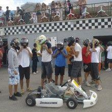 Las froggies al volante de los karts