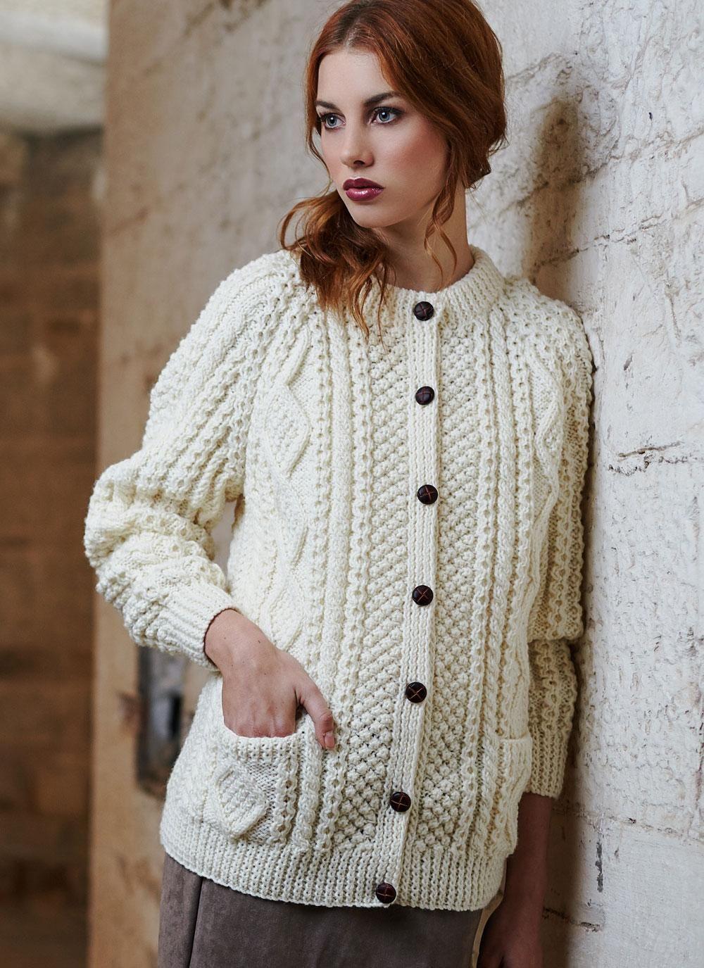 Irish Knit Sweaters For Women #knitsweaters #sweaterseason ...