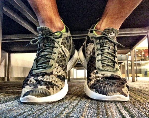 La sneaker camouflage : décryptage de la tendance