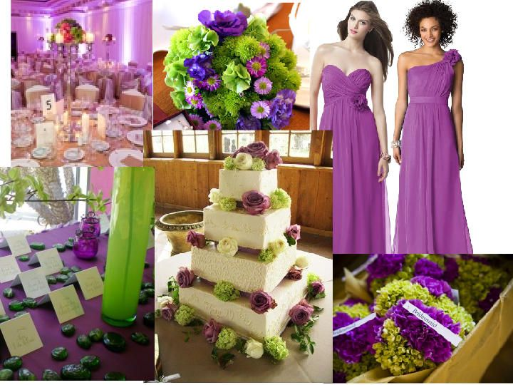 The Winning Color Pallette Darker Purple Though Dark Purple Ivory And Green Green Wedding Colors Purple Wedding Decorations Purple And Green Wedding
